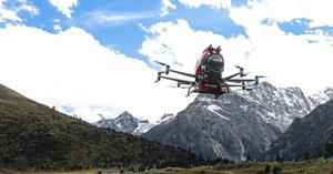 (Picture: EH216F undergoing the high-altitude flight test at 3,200 meters above sea level)