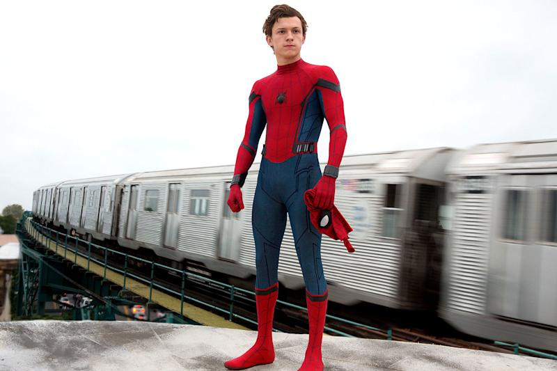 Okay, so they've rebooted Spider-Man yet again, but if any was going to finally stick, it's the one set in Marvel's Cinematic Universe. Tom Holland takes the lead in his first solo outing since debuting as Peter Parker in 'Captain America: Civil War'. The film has been described by its director as taking inspiration from John Hughes coming-of-age comedies like 'The Breakfast Club' - so expect a youthful Spidey tale and a distinct lack of origin story. (Credits: Sony Pictures)