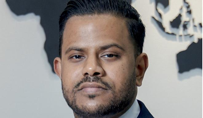 Abimanu Jeyakumar, the head of financial services recruiter Selby Jennings in Hong Kong. Photo: SCMP