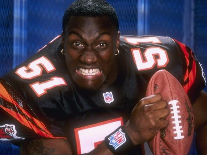 Takeo Spikes Bengals