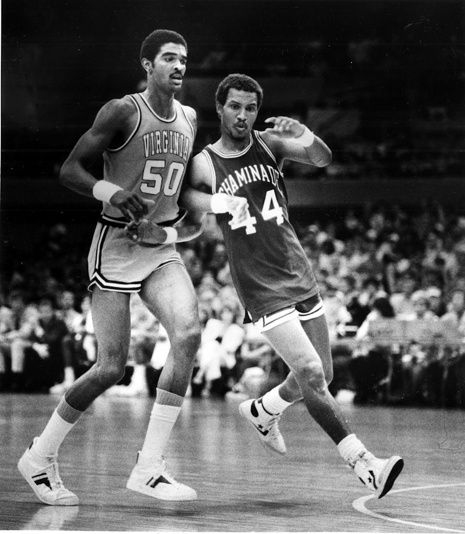 "<p>These days, it's very rare to even see an NAIA-affiliated basketball team face a major NCAA Division I school like Virginia because it would simply be such a mismatch. But that wasn't the case on Dec. 23, 1982 in Lahaina, Hawaii. Chaminade University (which has since moved up to Division II) somehow employed a perfect strategy to shut down the top-ranked team in the nation led by future NBA great Ralph Sampson. The game was <a rel=""nofollow noopener"" href=""http://collegebasketball.ap.org/article/chaminade-1982-witnessing-one-sports-greatest-upsets"" target=""_blank"" data-ylk=""slk:reportedly played in front of a small crowd of less than 4,000 people"" class=""link rapid-noclick-resp""><span>reportedly played in front of a small crowd of less than 4,000 people</span></a> and was not televised. It was maybe the greatest upset in sports history that hardly anyone saw. </p>"