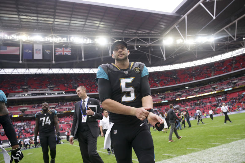The Jacksonville Jaguars will again be playing a home game in London in 2018. (AP)