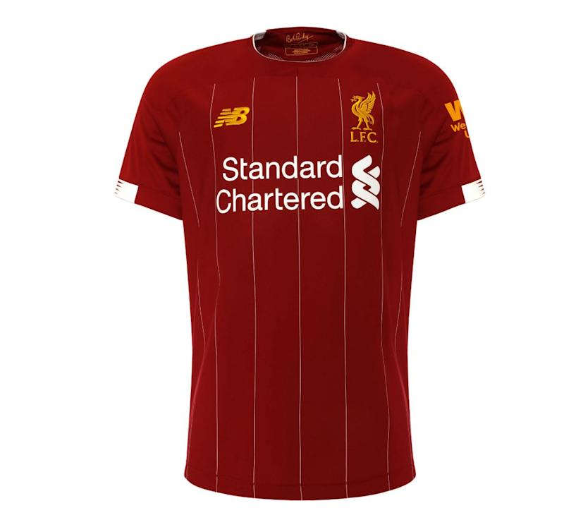 the latest 7b4fd 7c808 Liverpool reveal new kit in homage to legendary manager