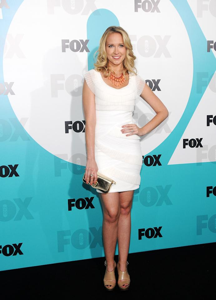 """Anna Camp (""""The Mindy Project"""") attends the Fox 2012 Upfronts Post-Show Party on May 14, 2012 in New York City."""