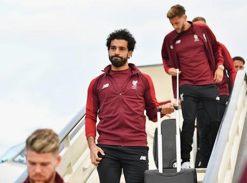 Liverpool are bidding to win the European title for a sixth time on Saturday night but they face a tough task against Champions League holders Real Madrid, who are aiming for a third successive victory and 13th overall. All eyes will be on the final in Kiev - here's our TV guide to ensure you do not miss a moment. What TV channel is showing the Champions League final? BT Sport have had exclusive rights to both the Champions League and Europa League since last season and will be the only place to watch the final. BT Sport 2 will be broadcasting from 6pm with Gary Lineker, while match coverage begins at 7pm on the same channel. What time does Champions League final start? The match itself starts at 7:45pm UK time, which equates to a 9:45pm start in Kiev, where the match is being held. How Liverpool can beat Real Madrid in Champions League Final Is it on free to air? Yes. Like they did with the Europa League final last Wednesday, BT have decided to make this weekend's Champions League final available to non-subscribers. Real Madrid vs Liverpool will be streamed live on YouTube in 4K UHD at https://www.youtube.com/btsport. Gary Lineker will present BT Sport's coverage of the Champions League final Credit: Getty Images The match will also be available to watch on the BT Sport app. If you would prefer to watch the match without the aid of an internet connection, BT Sport are also offering three months free to any customers who sign up to BT Sport between May 23 and May 29. What is the latest news? Liverpool fans have been arriving in Kiev since Thursday Credit: AFP There was anger on Friday evening as a number of flights from Liverpool to Kiev were cancelled at the last minute. Liverpool have said that as many as 1,000 fans have been affected by the disruption to travel plans. The match itself will feature two of the most in-form goal-scorers in Europe with Mohamed Salah and Cristiano Ronaldo going head-to-head at the Olimpiyskiy Stadium. Mohamed Salah arrives in Kiev wit