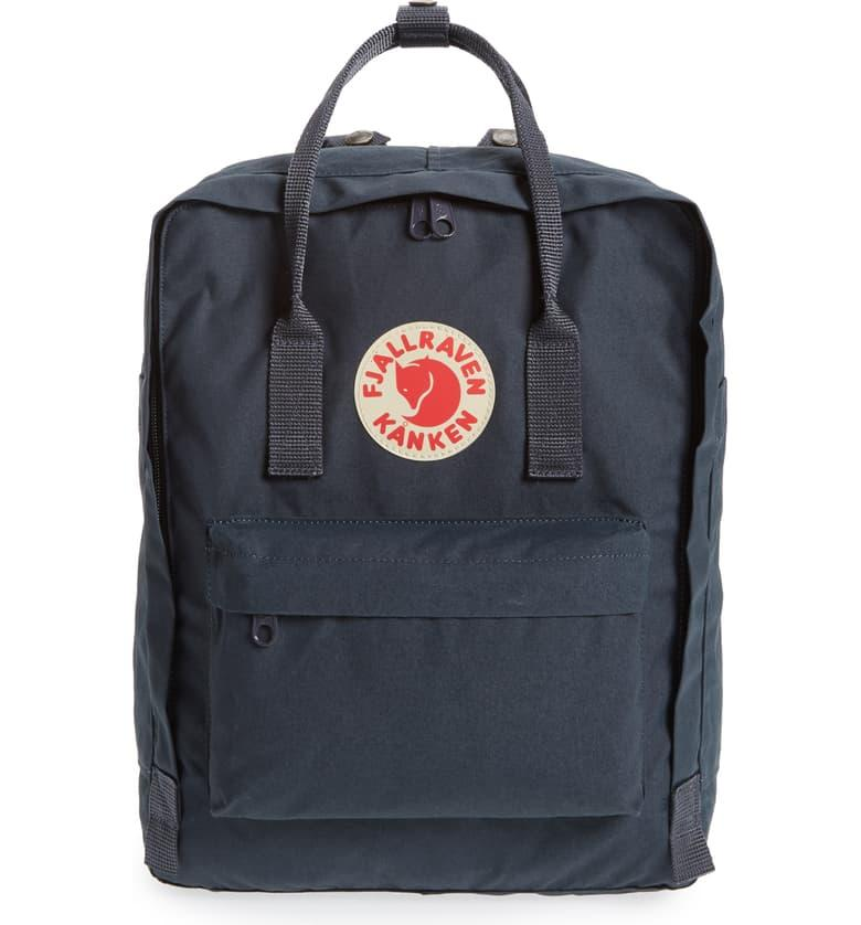 Fjällräven Kånken Water Resistant Backpack in navy