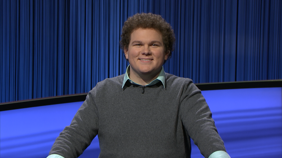"""Jonathan Fisher, an actor and Florida native, replaced Matt Amodio as the """"Jeopardy!"""" champion on Monday."""