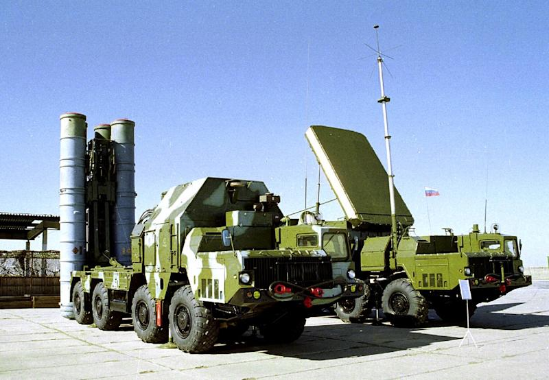 FILE In this undated file photo a Russian S-300 anti-aircraft missile system is on display in an undisclosed location in Russia. Israel expressed concern on Monday, May 13, 2013, over what its officials say is an imminent sale of Russian S-300 anti-aircraft missiles to Syria. (AP Photo, File)