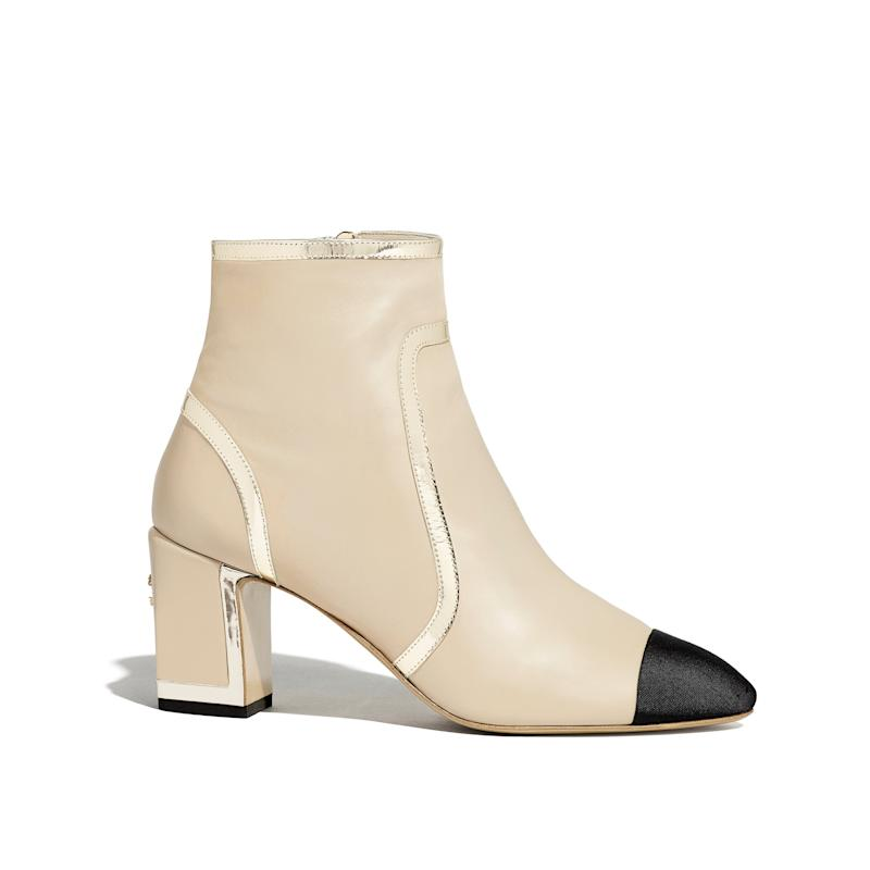Chanel ankle boots, £1,210, Shop them here (Chanel )