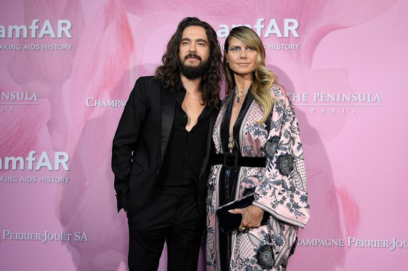 Tom Kaulitz and Heidi Klum tied the knot earlier this year in Capri after getting engaged in December.