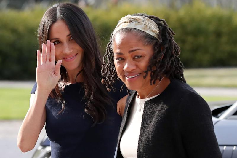 Doria Ragland is - delighted - about the birth certainly not on your