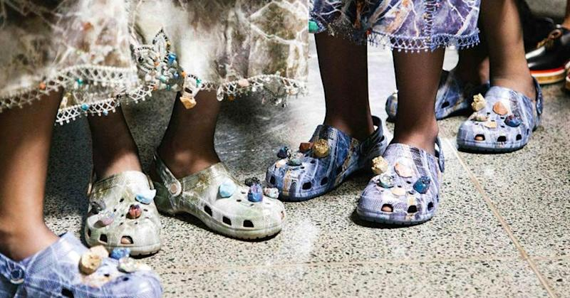 93ff0557abcb89 The ugliest shoes ever  Ugg mashup hits stores as Crocs storm the runway