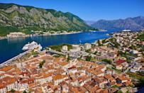 """<p>Once the preserve of oligarchs and their imposing yachts, Montenegro – just down the coast from Split on the Adriatic Sea – offers a lot of glitz and glamour for the rest of us, too. A new <a href=""""https://www.oneandonlyresorts.com/portonovi"""" rel=""""nofollow noopener"""" target=""""_blank"""" data-ylk=""""slk:One & Only"""" class=""""link rapid-noclick-resp"""">One & Only</a> will open there in the spring as the group's first European property – and it won't take you long to realise why they chose this setting. The Bay of Kotor (also known as Boka Bay) should be on your list for its fjord-like beauty, dazzling blue waters and the imposing mountains that line its shores. The country has walled towns, cliff-edge monasteries, millennium-old churches and mediaeval villages to explore, along with grand palaces built in a style that references the Venetian neighbours across the water.</p>"""