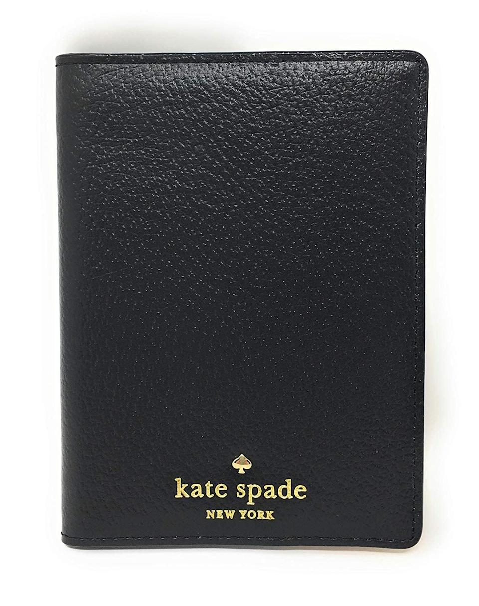 <p>Travelers will appreciate this <span>Kate Spade New York Grand Street Leather Passport Holder</span> ($57). It also comes in pink.</p>