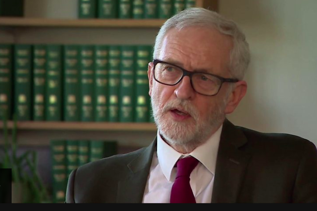 Jeremy Corbyn said he'd been proven 'absoutely right' by the Conservative Party's spending measures: BBC