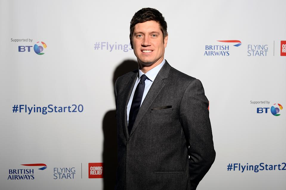 Vernon Kay attends British Airways champagne reception to celebrate the airline raising £20 million for Comic Relief, through it's charity Flying Start, at the Science Museum on November 15, 2018 in London, England. (Photo by Eamonn M. McCormack/Getty Images for British Airways)