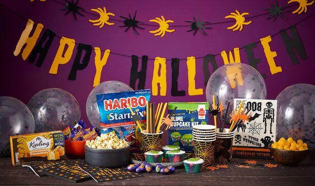 The Halloween collection, photographed here, is perfect for low-key celebrations. (Morrisons)
