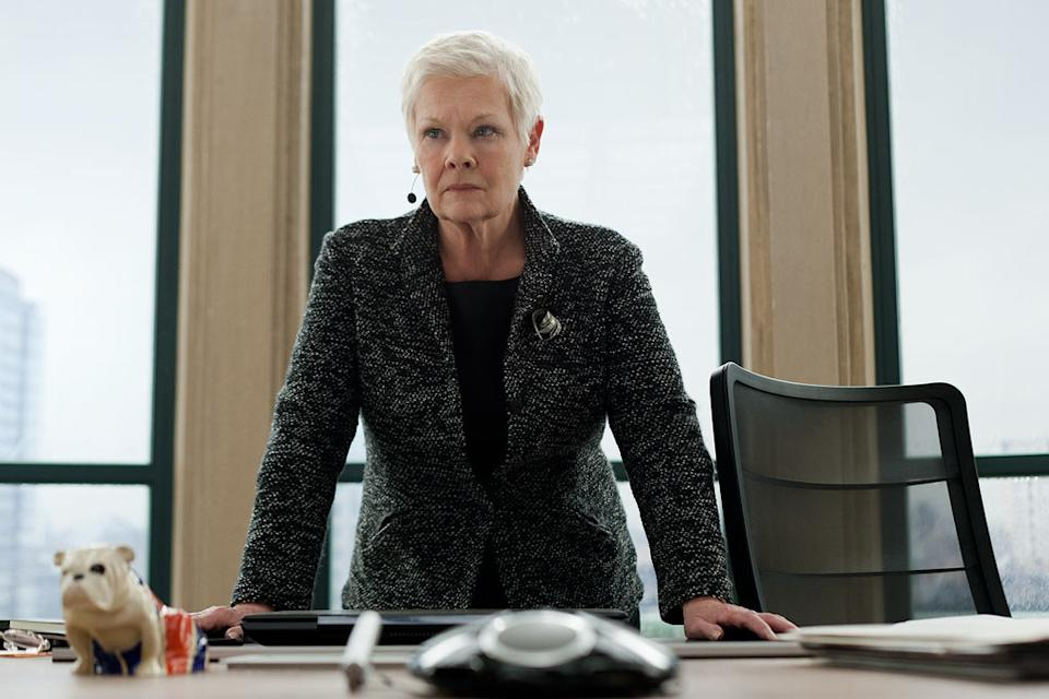 "Judi Dench in Columbia Pictures' ""Skyfall"" - 2012"