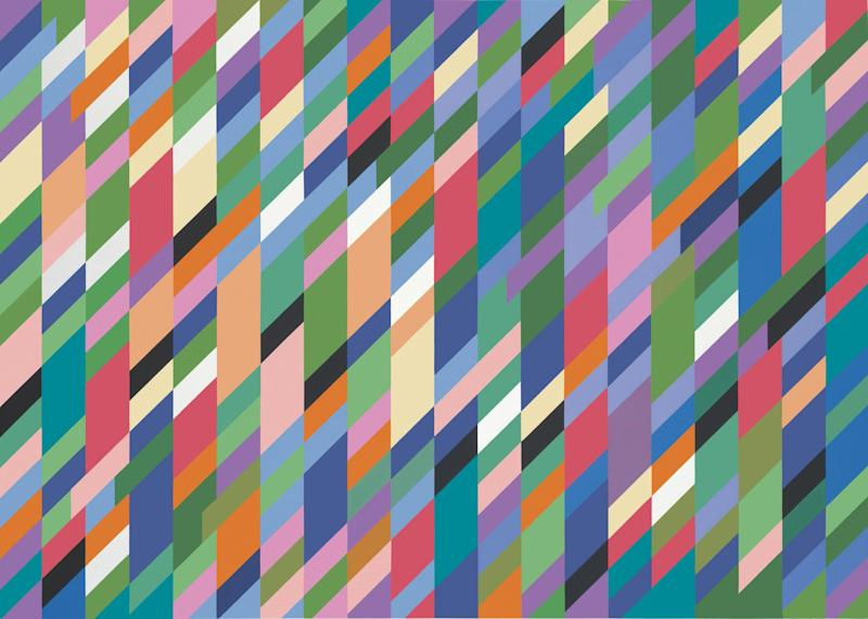 Bridget Riley, High Sky, 1991 (Bridget Riley 2018)