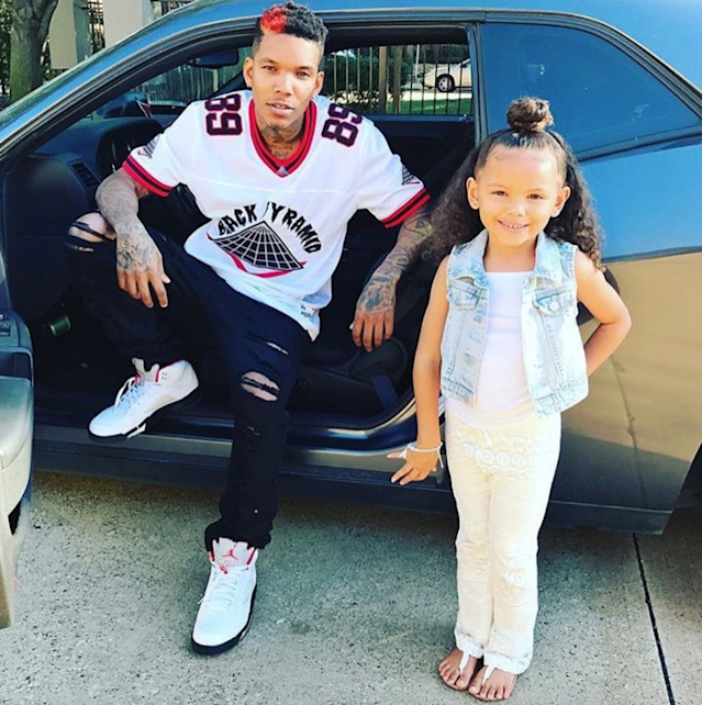 Mike Worthington and his daughter Asia have become social media stars for their adorable hair tutorials. (Photo: Instagram /Ice Mike Loves Asia)