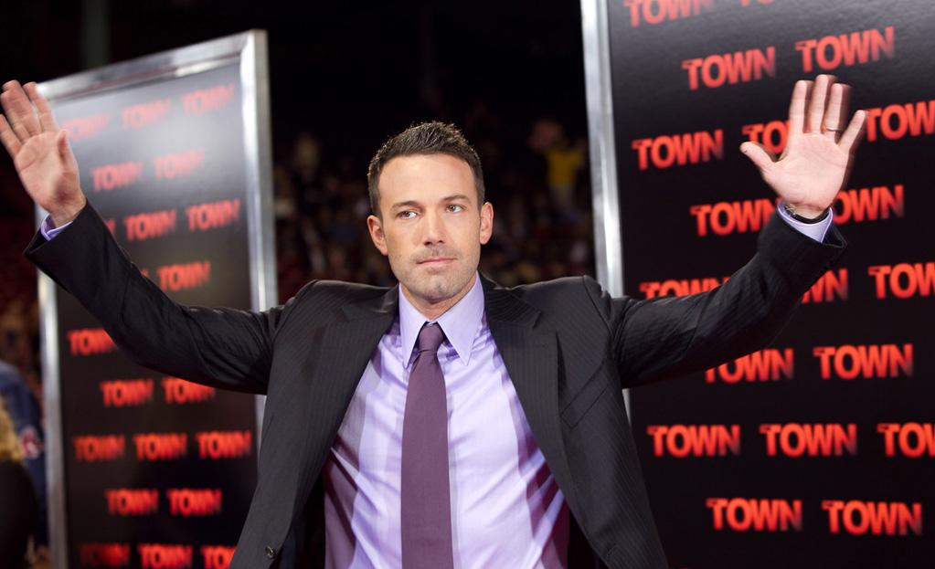"""<a href=""""http://movies.yahoo.com/movie/contributor/1800018969"""">Ben Affleck</a> at the Boston premiere of <a href=""""http://movies.yahoo.com/movie/1810112712/info"""">The Town</a> on September 14, 2010."""