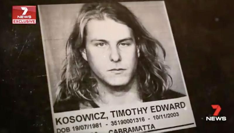 Timothy Kosowicz admitted to suffocating the young girl with plastic shopping bags. Source: 7 News