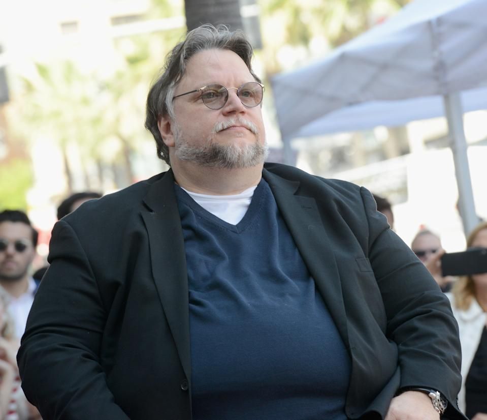 HOLLYWOOD, CA - AUGUST 06:  Guillermo del Toro Honored With Star On The Hollywood Walk Of Fame held on August 6, 2019 in Hollywood, California.  (Photo by Albert L. Ortega/Getty Images)