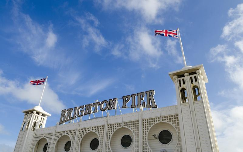 The quintessential Brighton Pier is one of the many attractions in the seaside town - This content is subject to copyright.