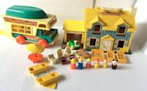 <p>The company has been a household name with families since the 1930s. The original Little People toy line is one of the originals, but that has evolved in approximately 5,000 toys since its inception. The Fisher Price Collectors Club, which formed in the 1990s, focuses on preserving, buying, selling and trading these toys. The family camper set is one of the most popular from the '70s.<br></p><p><strong>What it's worth: </strong>$25-$150</p>
