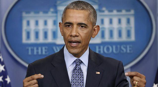 """a spokesman for Barack Obama branded the accusation """"simply false."""" Picture: AP"""
