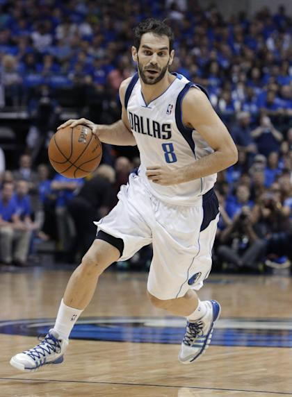 Jose Calderon will be asked to provide a steady hand and knock down open shots. (AP/LM Otero)