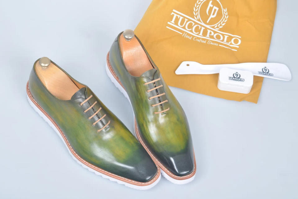 tucci polo, shoes, black owned