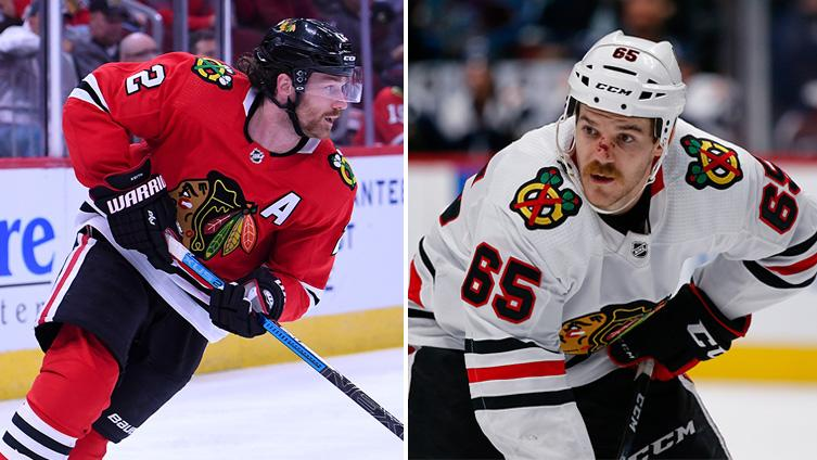 Blackhawks place Duncan Keith and Andrew Shaw on injured reserve