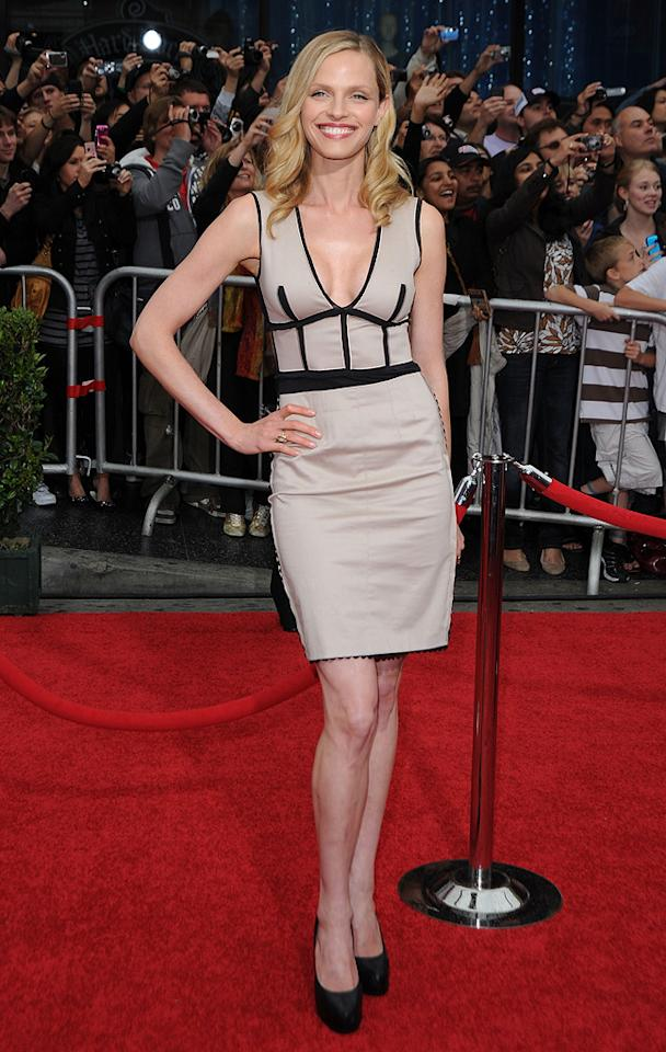 """<a href=""""http://movies.yahoo.com/movie/contributor/1808418501"""">Rachel Roberts</a> at the Los Angeles premiere of <a href=""""http://movies.yahoo.com/movie/1810041991/info"""">Prince of Persia: The Sands of Time</a> - 05/17/2010"""
