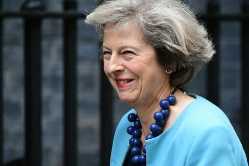 May said she would not trigger the formal process for leaving the EU known as Article 50 until next year. Source: AFP.
