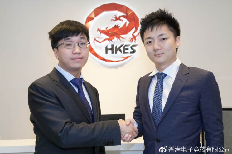 Tabe is the new Head Coach of Hong Kong Esports (HKE weibo)