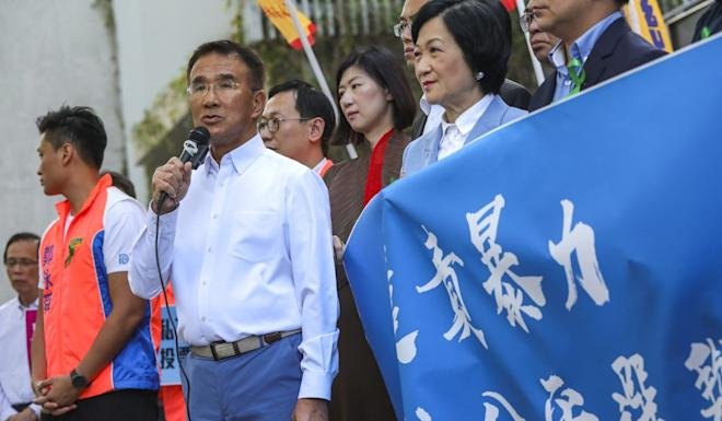 Michael Tien Puk-sun said he hoped the election committee would still have some influence over the choice of the next chief executive. Photo: May Tse