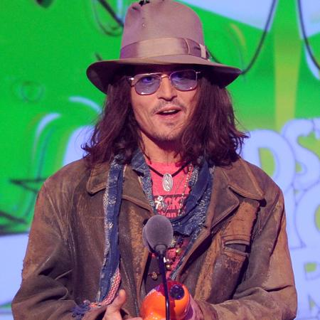 Johnny Depp on Paradis album