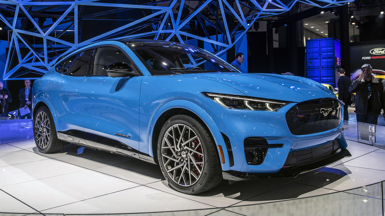 "<p>With a <a href=""https://www.autoblog.com/2019/11/21/ford-mustang-mach-e-origin-story-naming-controversy-film/"">polarizing name</a>, Ford's first all-electric vehicle has already <a href=""https://www.autoblog.com/2019/11/17/2021-ford-mustang-mach-e-revealed-la-auto-show/"">made quite a splash</a>. And people are lining up to buy it. <a href=""https://www.autoblog.com/2019/11/27/ford-mustang-mach-e-first-edition-sold-out/"">Ford quickly dispatched First Edition reservations</a>, and soon followed up with statistics about the <a href=""https://www.autoblog.com/2019/12/30/2021-ford-mustang-mach-e-pre-order-stats-facts/"">configurations customers are favoring</a>. Perhaps to nobody's surprise, they're overwhelmingly choosing long-range batteries. We're curious to see how the Mach-E is received when we finally start seeing it on the road later this year.</p>"