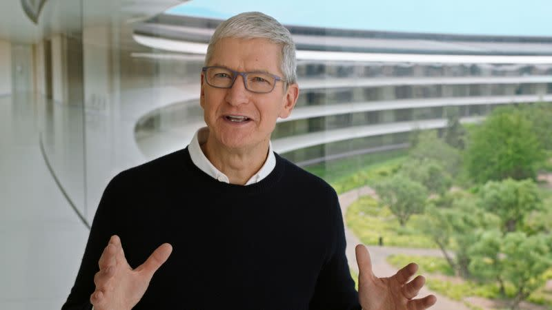 Apple special event at the company's headquarters in Cupertino