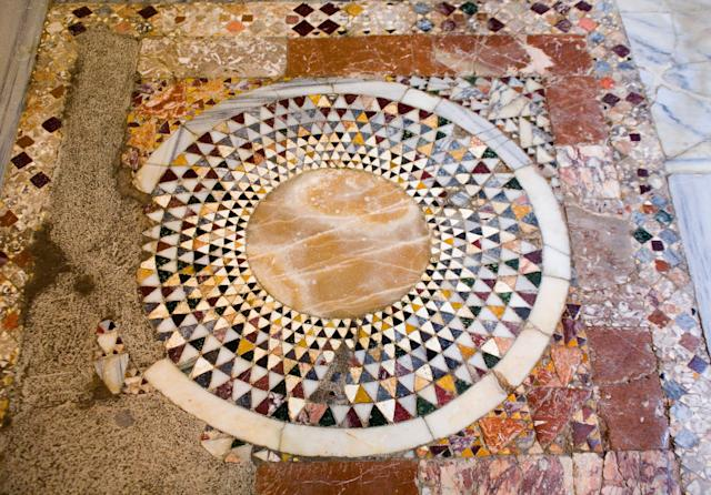 Cemil Karabayram, head of Antalya's Monument Authority, said it will take some time to examine the ground beneath the church, with them having to remove the mosaic tiling.