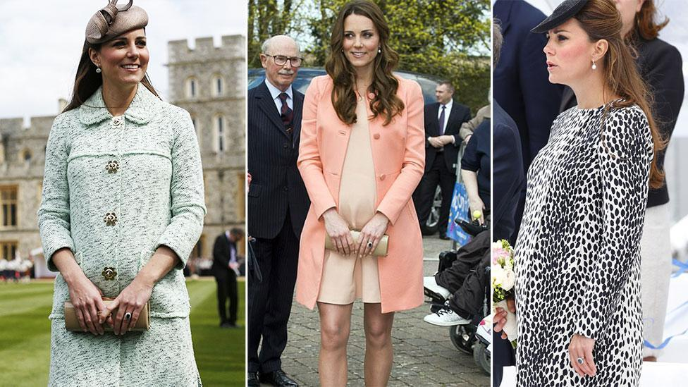 A look back at Kate's most stylish maternity outfits