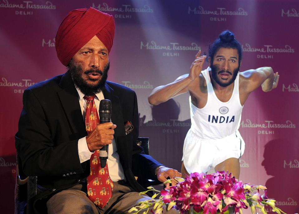 Milkha Singh also known as The Flying Sikh, is an Indian former track and field sprinter who was introduced to the sport while serving in the Indian Army. Singh was the country's first athlete to win gold in the Commonwealth Games (1958 Cardiff) and missed a medal at 1960 Rome Olympic medal by a whisker, finishing fourth in the 400m final.