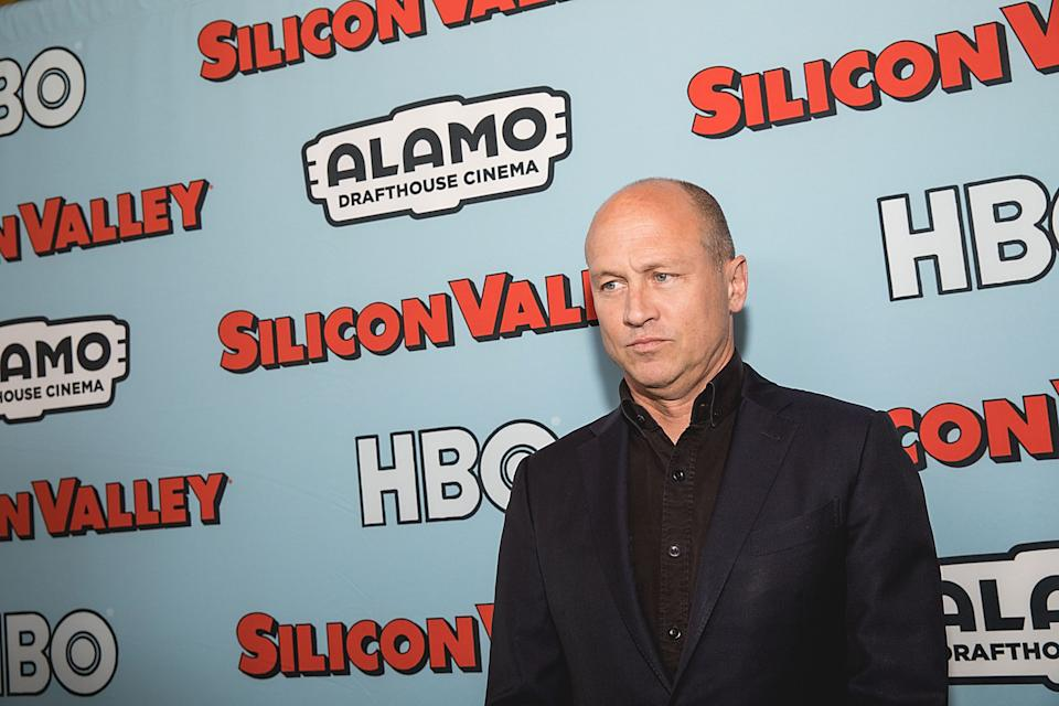 Co-creator and executive producer Mike Judge attends the 'Silicon Valley' fourth season premiere on April 18, 2017. (Photo by Rick Kern/WireImage)