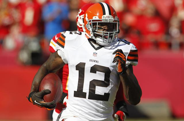 Browns WR Gordon charged with DWI in NC