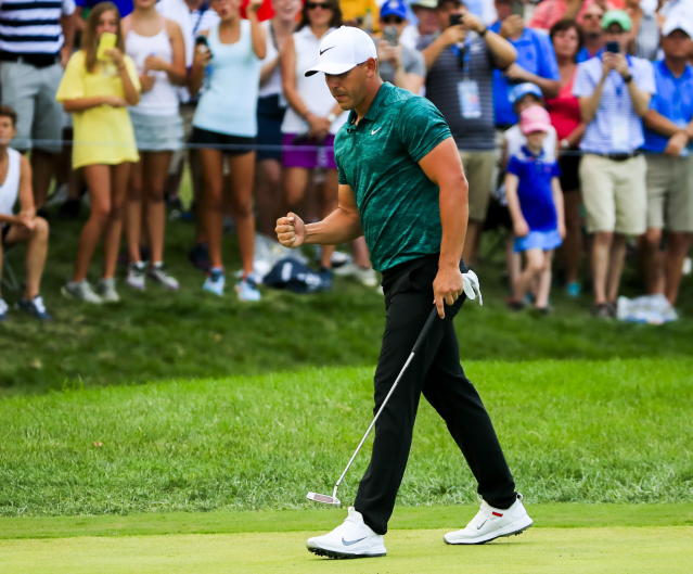 Brooks Koepka has won three majors in the last 14 months. (EFE/EPA)