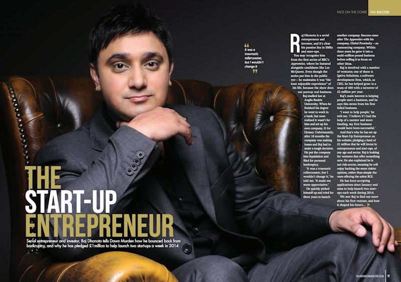 (Photo: Talk Business Magazine May 2014 )