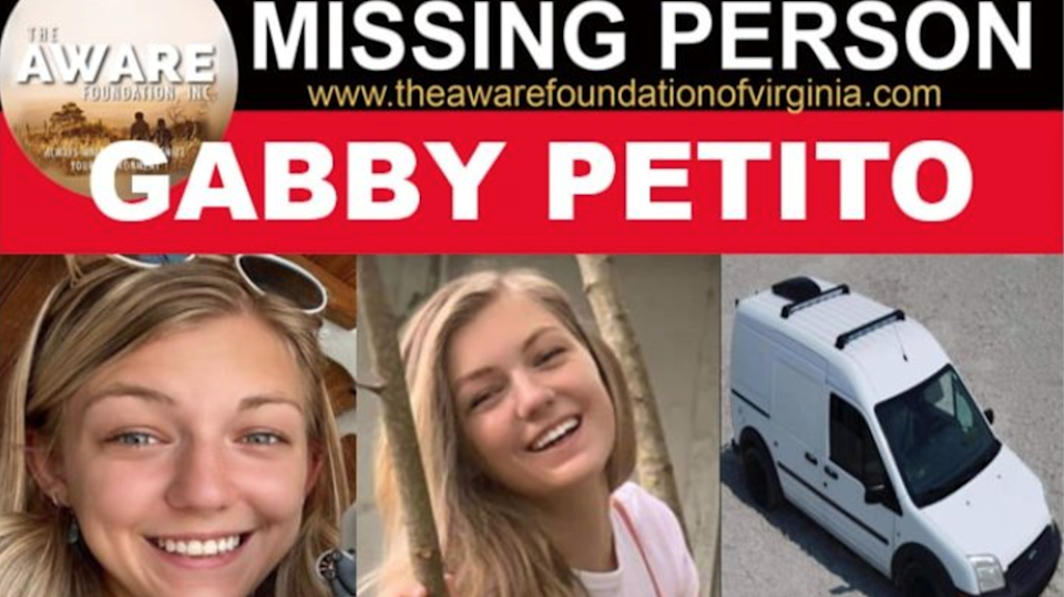A GoFundme page has been set up to raise funds to help Gabby Petito's family search for her (GoFundme)