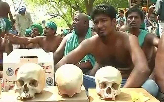 Skull protest by Tamil Nadu farmers enters 22nd day: All you need to know