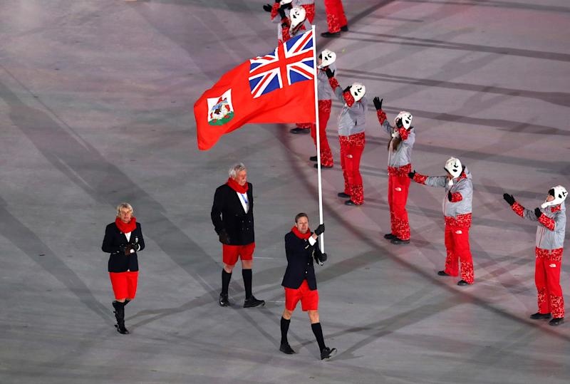 Bermuda Wore Shorts to the Freezing Winter Olympics Opening Ceremony. The Internet Is Impressed.
